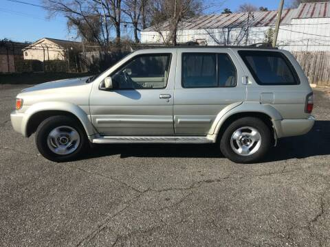 1998 Infiniti QX4 for sale at Mike's Auto Sales of Charlotte in Charlotte NC