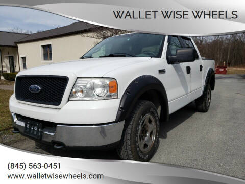 2005 Ford F-150 for sale at Wallet Wise Wheels in Montgomery NY