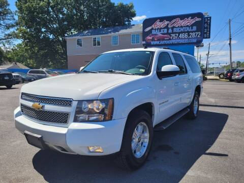 2012 Chevrolet Suburban for sale at Auto Outlet Sales and Rentals in Norfolk VA