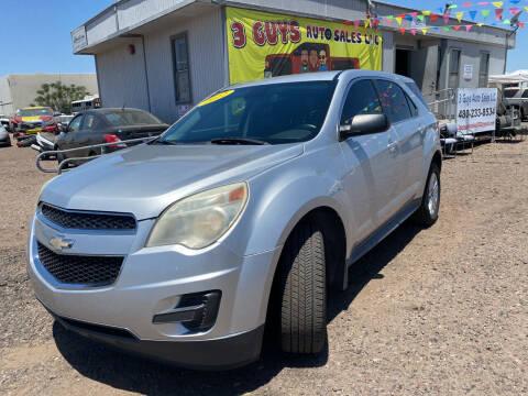 2012 Chevrolet Equinox for sale at 3 Guys Auto Sales LLC in Phoenix AZ