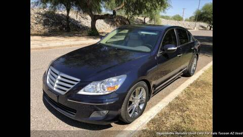 2009 Hyundai Genesis for sale at Noble Motors in Tucson AZ