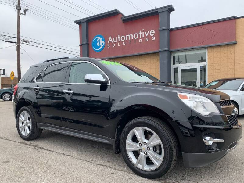 2011 Chevrolet Equinox for sale at Automotive Solutions in Louisville KY