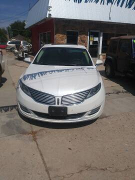 2014 Lincoln MKZ for sale at PYRAMID MOTORS AUTO SALES in Florence CO