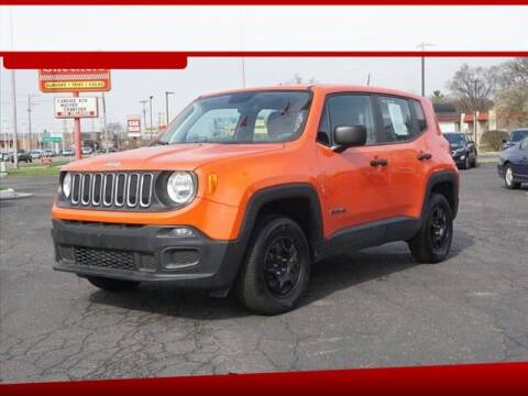 2018 Jeep Renegade for sale at Autowest of GR in Grand Rapids MI