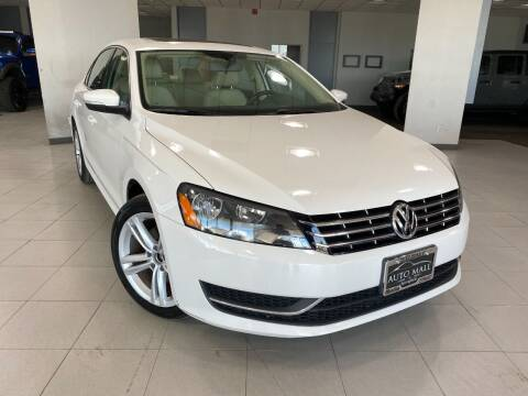 2015 Volkswagen Passat for sale at Auto Mall of Springfield in Springfield IL
