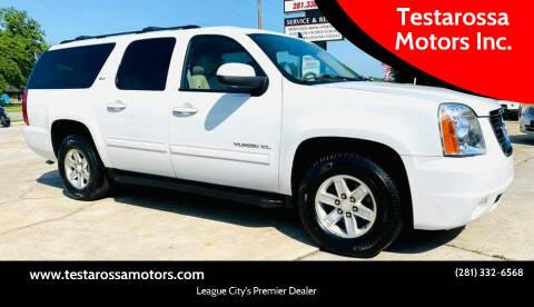 2011 GMC Yukon XL for sale at Testarossa Motors Inc. in League City TX