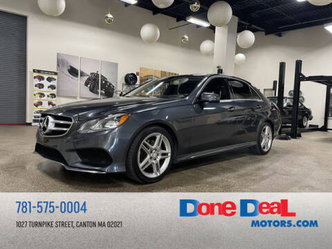 2014 Mercedes-Benz E-Class for sale at DONE DEAL MOTORS in Canton MA