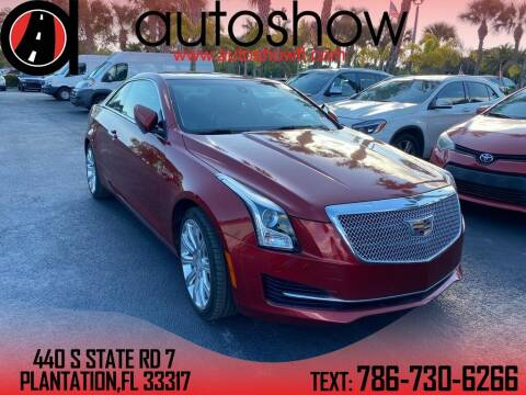 2018 Cadillac ATS for sale at AUTOSHOW SALES & SERVICE in Plantation FL