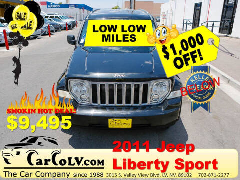 2011 Jeep Liberty for sale at The Car Company in Las Vegas NV