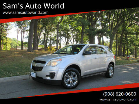 2013 Chevrolet Equinox for sale at Sam's Auto World in Roselle NJ