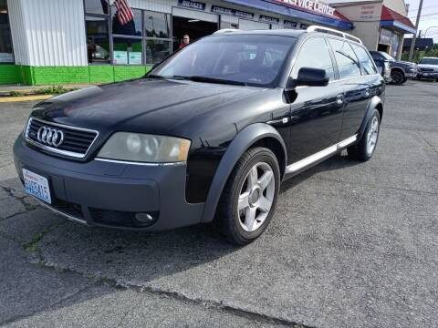 2004 Audi Allroad for sale at DISCOUNT AUTO SALES LLC in Lakewood WA