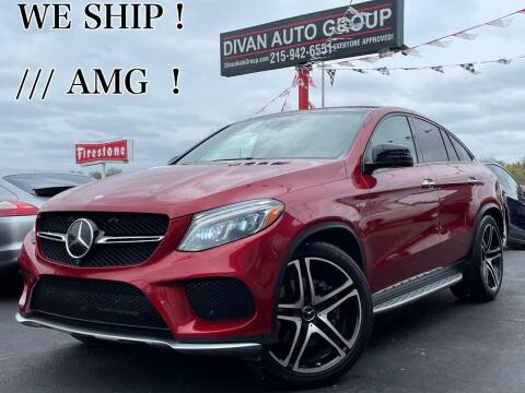 2017 Mercedes-Benz GLE for sale at Divan Auto Group in Feasterville PA