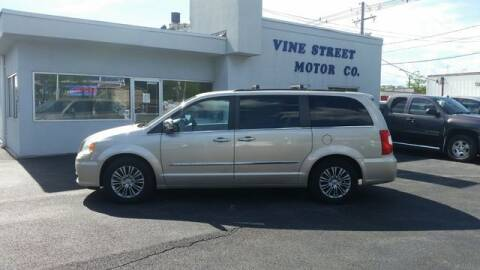 2013 Chrysler Town and Country for sale at VINE STREET MOTOR CO in Urbana IL