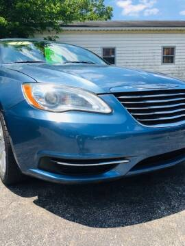 2011 Chrysler 200 for sale at Thompson Auto Diagnostics / Auto Sales Division in Mishawaka IN