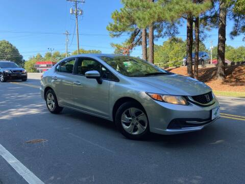 2015 Honda Civic for sale at THE AUTO FINDERS in Durham NC