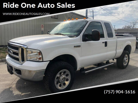 2006 Ford F-350 Super Duty for sale at Ride One Auto Sales in Norfolk VA