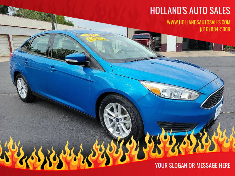 2016 Ford Focus for sale at Holland's Auto Sales in Harrisonville MO