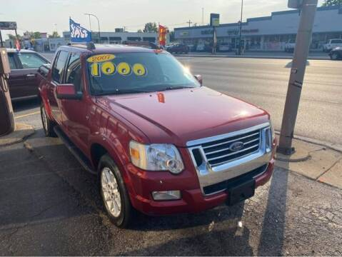 2007 Ford Explorer Sport Trac for sale at JBA Auto Sales Inc in Stone Park IL