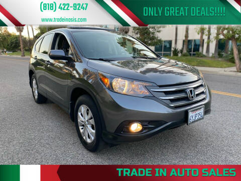 2013 Honda CR-V for sale at Trade In Auto Sales in Van Nuys CA