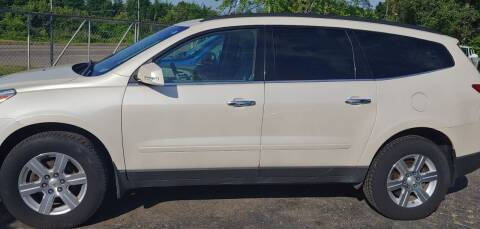 2012 Chevrolet Traverse for sale at Superior Motors in Mount Morris MI