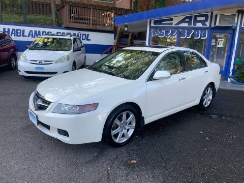 2005 Acura TSX for sale at Car World Inc in Arlington VA