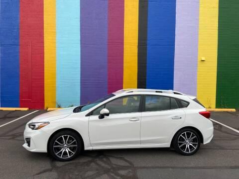 2018 Subaru Impreza for sale at JOSE MESA AUTO WHOLESALE , LLC in Portland OR