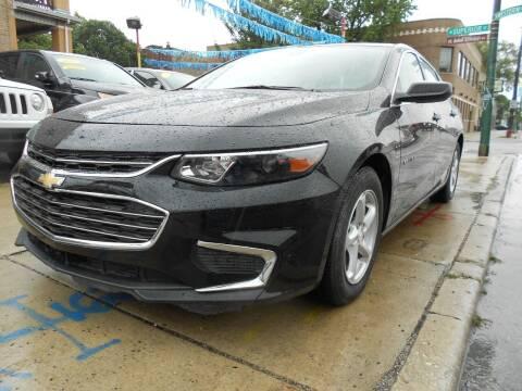 2017 Chevrolet Malibu for sale at Metropolitan Automan, Inc. in Chicago IL