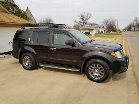 2012 Nissan Pathfinder for sale at Eastern Motors in Altus OK