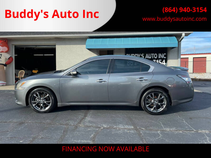 2014 Nissan Maxima for sale at Buddy's Auto Inc in Pendleton SC
