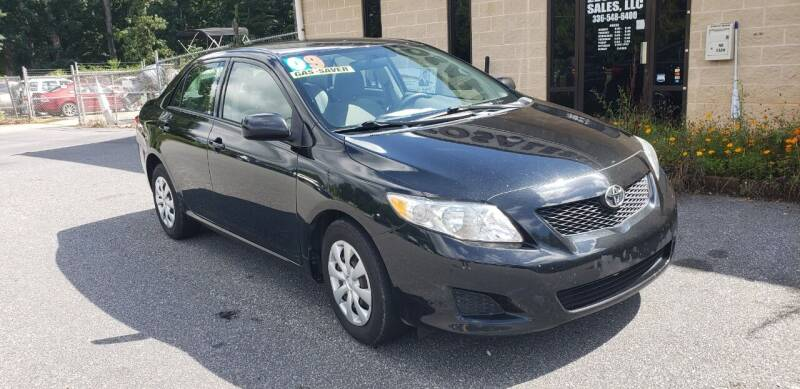 2009 Toyota Corolla for sale at 220 Auto Sales LLC in Madison NC