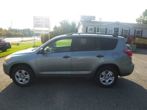2008 Toyota RAV4 for sale at Cove Point Auto Sales in Joppa MD