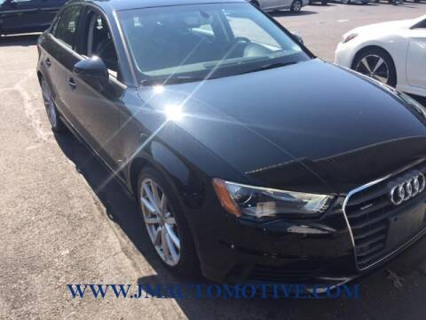 2016 Audi A3 for sale at J & M Automotive in Naugatuck CT