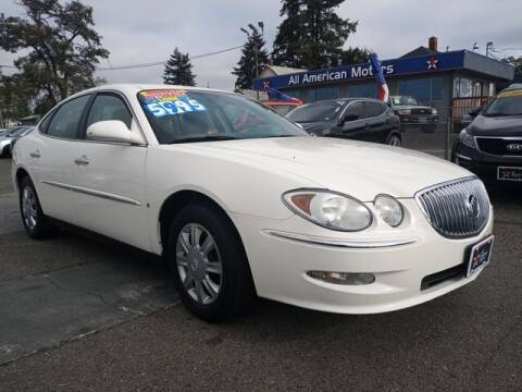 2008 Buick LaCrosse for sale at All American Motors in Tacoma WA