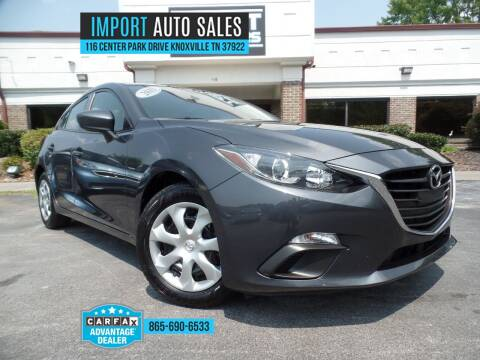 2015 Mazda MAZDA3 for sale at IMPORT AUTO SALES in Knoxville TN