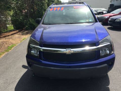 2005 Chevrolet Equinox for sale at BIRD'S AUTOMOTIVE & CUSTOMS in Ephrata PA