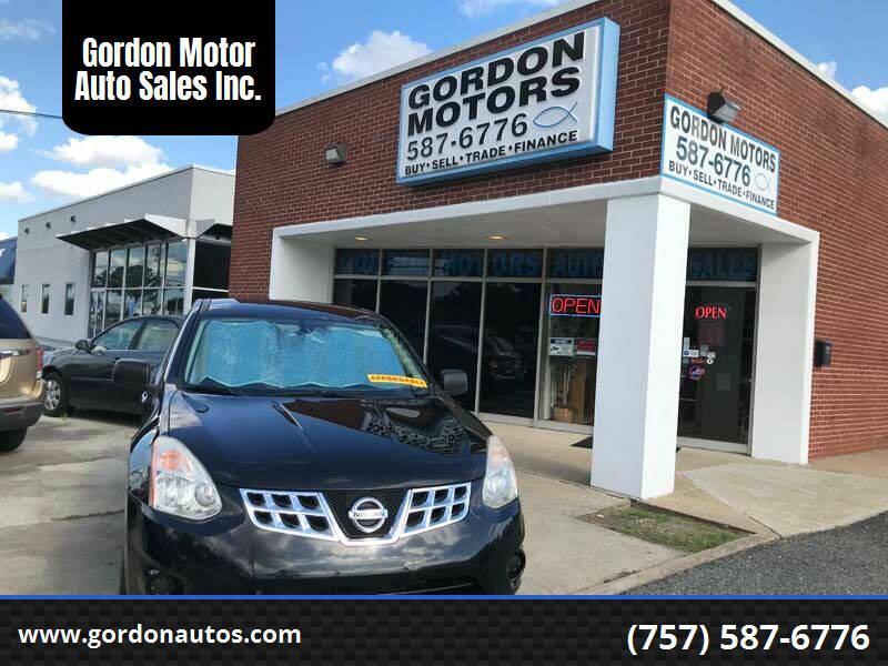 2011 Nissan Rogue for sale at Gordon Motor Auto Sales Inc. in Norfolk VA