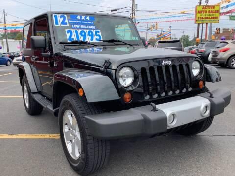 2012 Jeep Wrangler for sale at Active Auto Sales in Hatboro PA