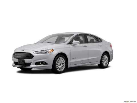 2014 Ford Fusion Hybrid for sale at SULLIVAN MOTOR COMPANY INC. in Mesa AZ