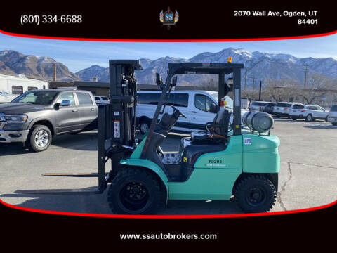 2013 Mitsubishi FORKLIFT FG30N for sale at S S Auto Brokers in Ogden UT