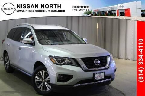 2017 Nissan Pathfinder for sale at Auto Center of Columbus in Columbus OH