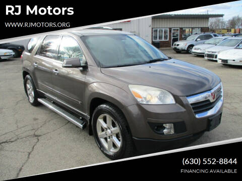 2008 Saturn Outlook for sale at RJ Motors in Plano IL