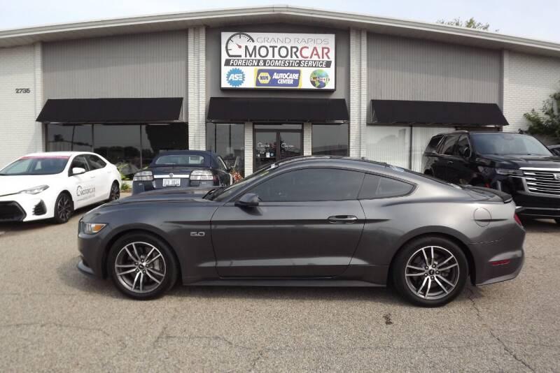 2017 Ford Mustang for sale at Grand Rapids Motorcar in Grand Rapids MI