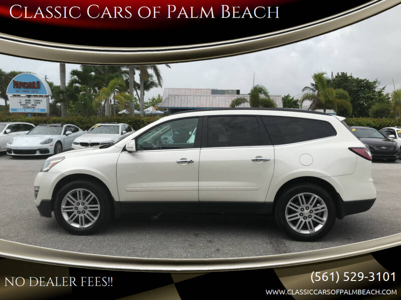 2015 Chevrolet Traverse for sale at Classic Cars of Palm Beach in Jupiter FL