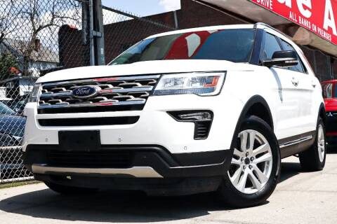 2018 Ford Explorer for sale at HILLSIDE AUTO MALL INC in Jamaica NY