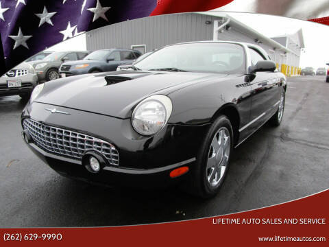 2002 Ford Thunderbird for sale at Lifetime Auto Sales and Service in West Bend WI