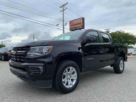 2021 Chevrolet Colorado for sale at Autohaus of Greensboro in Greensboro NC