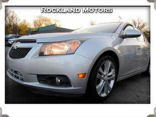 2012 Chevrolet Cruze for sale at Rockland Automall - Rockland Motors in West Nyack NY