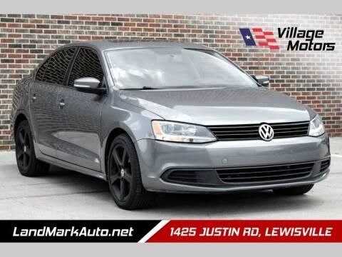 2012 Volkswagen Jetta for sale at Village Motors in Lewisville TX