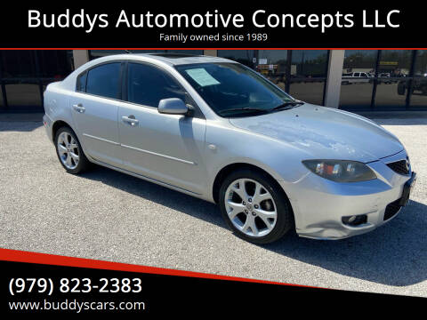 2009 Mazda MAZDA3 for sale at Buddys Automotive Concepts LLC in Bryan TX