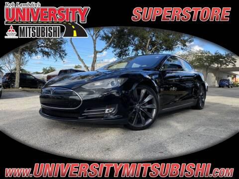 2012 Tesla Model S for sale at FLORIDA DIESEL CENTER in Davie FL